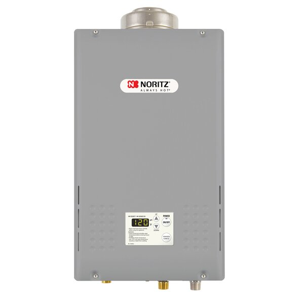 Commercial Indoor Tankless Water Heater by Noritz