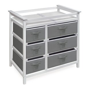 Reviews Heid Modern Changing Table with 6 Baskets ByZoomie Kids