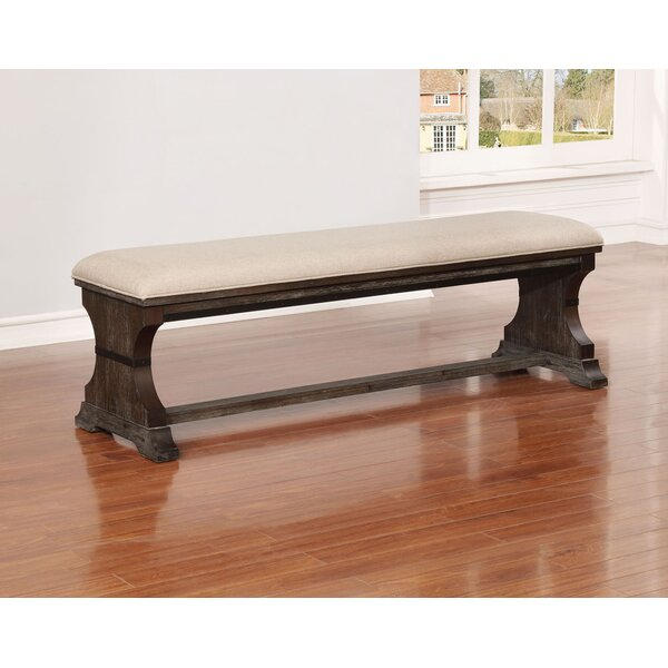Leonardo Dining Bench by Gracie Oaks