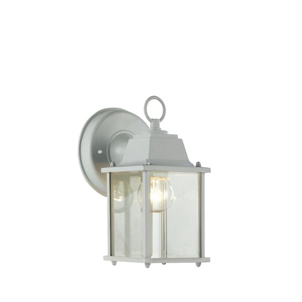 Terrazas 1-Light Outdoor Wall Lantern by August Grove