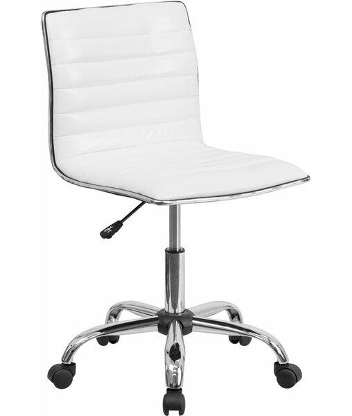 Whiddon Low-Back Swivel Office Chair by Orren Ellis