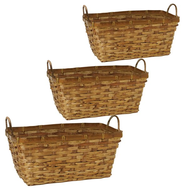 Rattan Pot Planter (Set of 3) by WaldImports