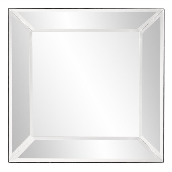Wisner Outward Square Accent Mirror by Greyleigh