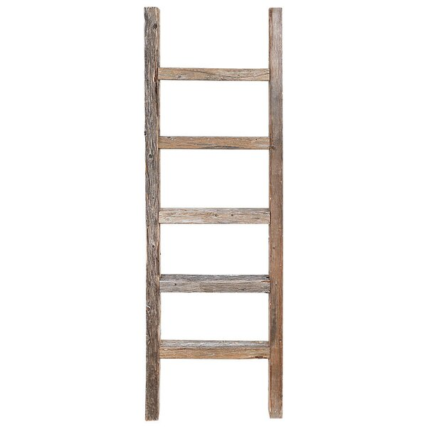 Wood 4 ft Decorative Ladder by Rustic Decor