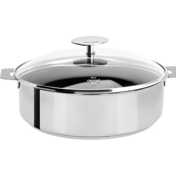 Mutine Nonstick Saute Pan with Lid by Cristel