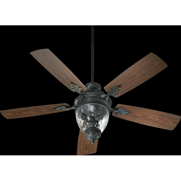 52 Schneider 5-Blade Patio Ceiling Fan by Astoria Grand