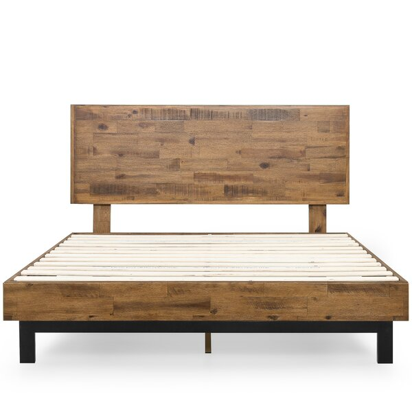 Gabriel Solid Wood Low Profile Platform Bed By Foundstone