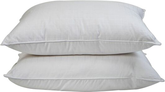 Plush Perfect Gel Fiber Pillow (Set of 2) by Allied Home