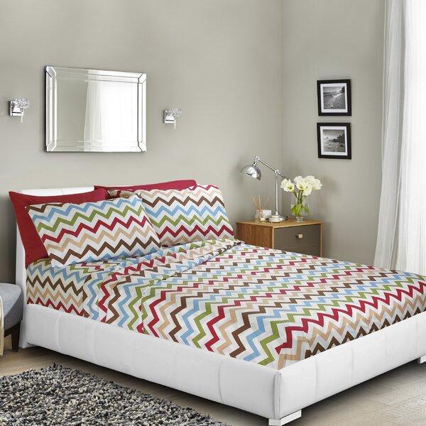Ramjohn Printed Bed Sheet Set by Ebern Designs