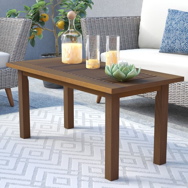 Arianna Solid Wood Coffee Table by Langley Street™
