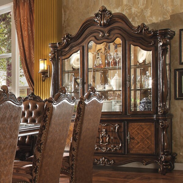 Welton Lighted China Cabinet by Astoria Grand Astoria Grand