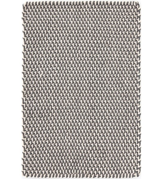 Hand Woven Graphite Indoor/Outdoor Area Rug by Dash and Albert Rugs
