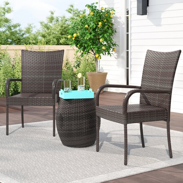 Knobel 3 Piece Rattan Seating Group by Zipcode Design
