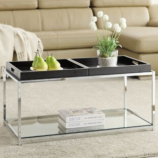 Stetson Coffee Table with Tray Top