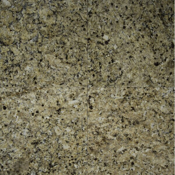 12 x 12 Granite Field Tile in New Venetian Gold