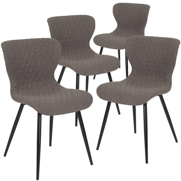 Maggio Upholstered Dining Chair (Set of 4) by Wrought Studio
