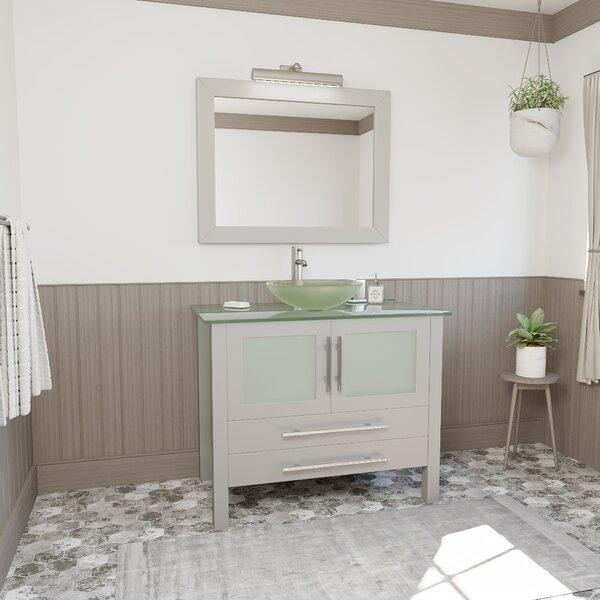 Venita 36 Single Bathroom Vanity Set with Mirror
