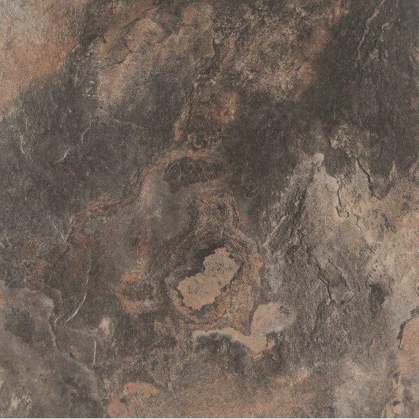 American Slate 6 x 6 Porcelain Wood Field Tile in Twilight Black by Tesoro