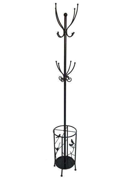 Bird Theme Coat Rack and Umbrella Holder by Fox Hill Trading