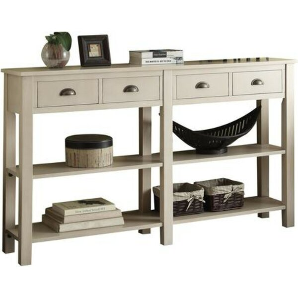 Quirion Wooden Console Table by Breakwater Bay Breakwater Bay