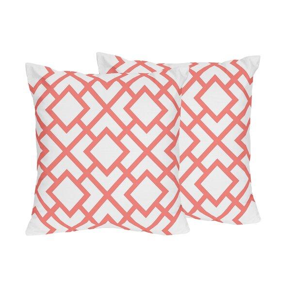 Mod Diamond Throw Pillow (Set of 2) by Sweet Jojo Designs