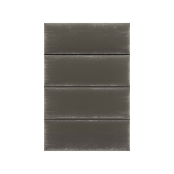 Velvet Wall Paneling in Gothic Gray by Vant Panels