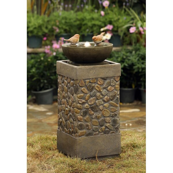 Resin/Fiberglass Bird Fountain by Jeco Inc.