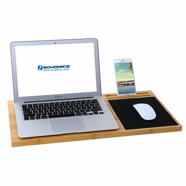 Erhart Bamboo Laptop Tray by Millwood Pines