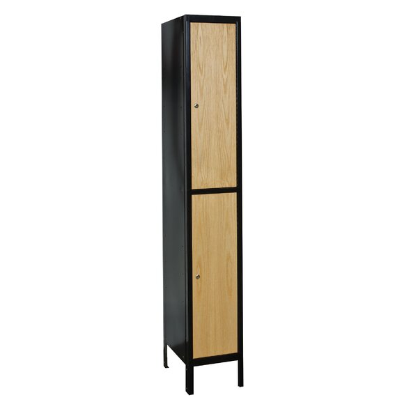 Hybrid 2 Tier 1 Wide School Locker by Hallowell