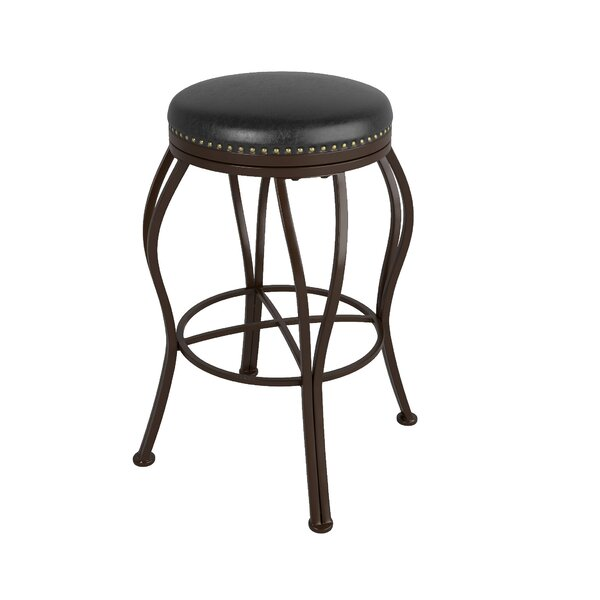 Gravity 30.25 Swivel Bar Stool by Red Barrel Studio