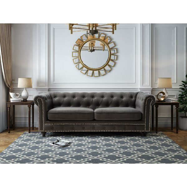 Free Shipping & Free Returns On Mangano Tufted Chesterfield Sofa by Williston Forge by Williston Forge