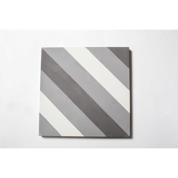 Jay 8 x 8 Cement Patterned Wall & Floor Tile