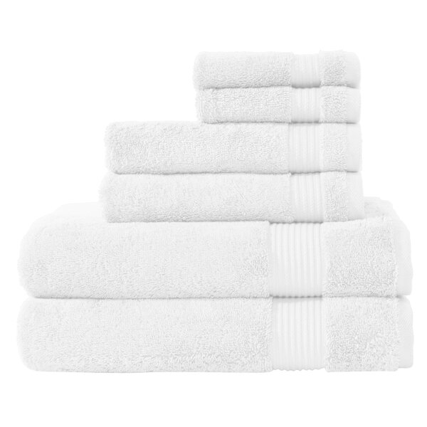 Amadeus 6 Piece Turkish Cotton Towel Set by The Twillery Co.