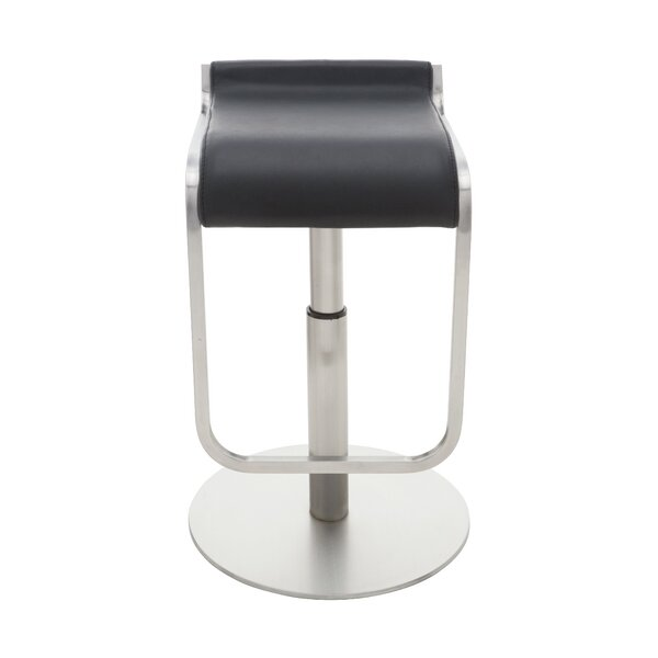 Adora Adjustable Height Bar Stool by Nuevo