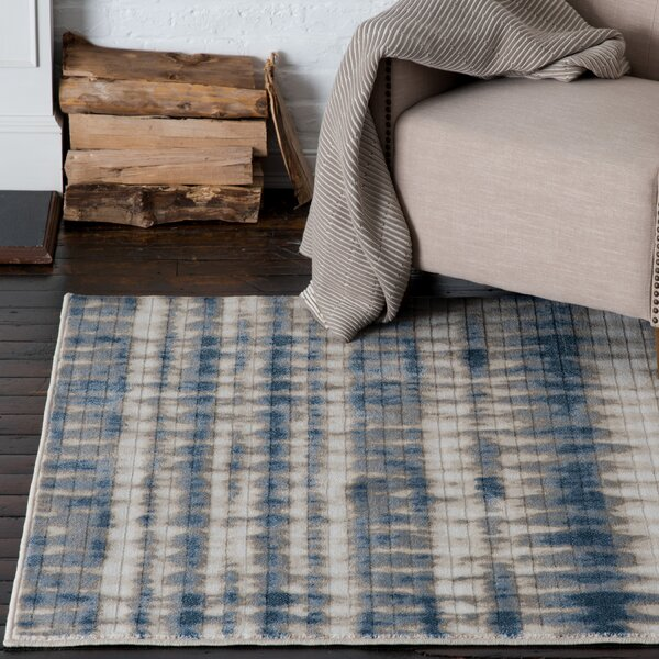 Malmberg Markab Blue/Beige Area Rug by Union Rustic