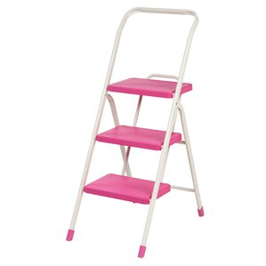 3-Step Folding Step Stool with 225 lb. Load Capacity  sc 1 st  Wayfair & Ladders u0026 Step Stools Youu0027ll Love | Wayfair islam-shia.org