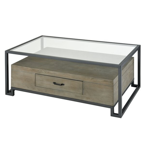 Mykel Coffee Table with Storage by Orren Ellis Orren Ellis