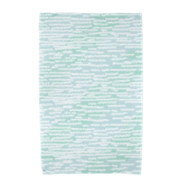 Marled Knit Stripe Beach Towel by Highland Dunes