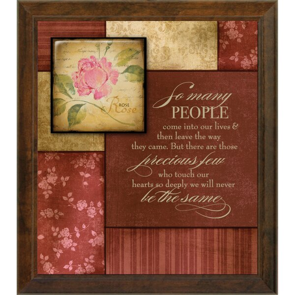 Simple Expressions So Many People Textual Art Plaque by Dexsa