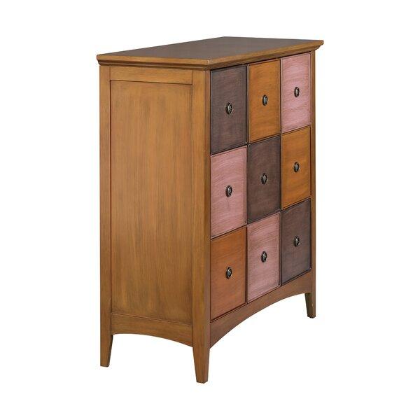 Riccio 9 Drawer Accent Cabinet by Winston Porter Winston Porter