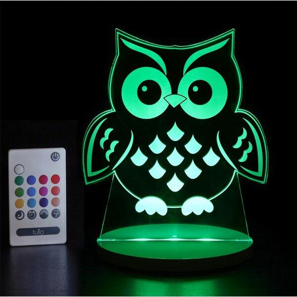 Owl Night Light by Tulio Dream Lights