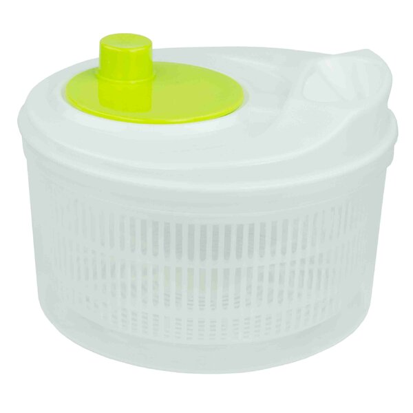 Plastic Salad Spinner By Home Basics.