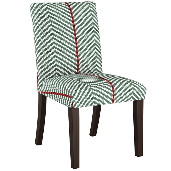 Bloom Upholstered Dining Chair by Bungalow Rose