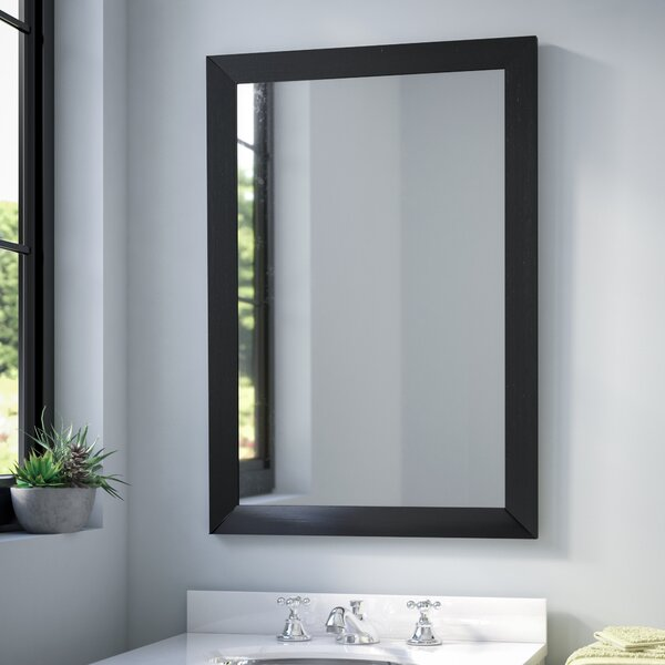 large bathroom cabinets with mirror brayden studio contemporary rectangle vanity wall mirror 23607