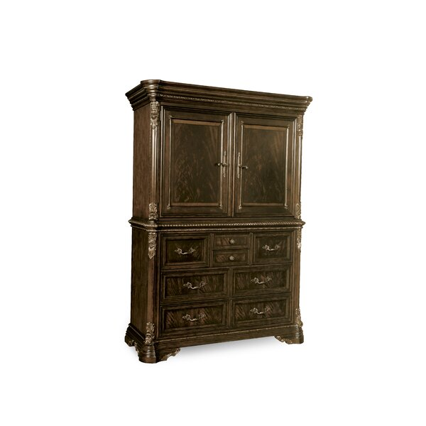 Hepburn 8 Drawer Gentlemans Chest by Astoria Grand