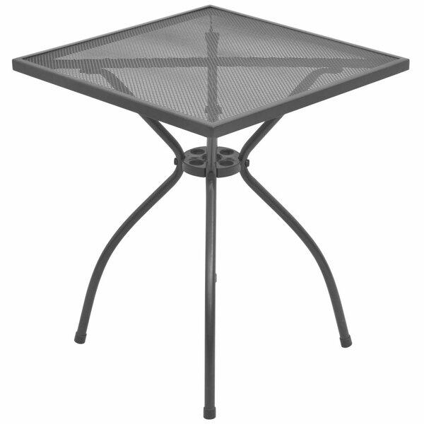 Edric Steel Bistro Table by Winston Porter