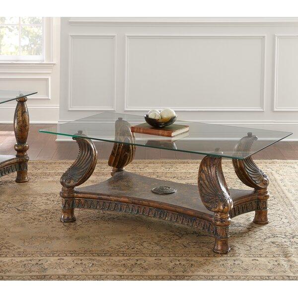 Astoria Grand Glass Top Coffee Tables