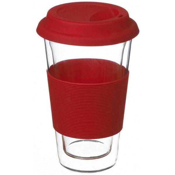 Grosche Glassen Glass Travel Mug by Grosche