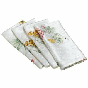 Butterfly Meadow Napkin (Set of 4) by Lenox