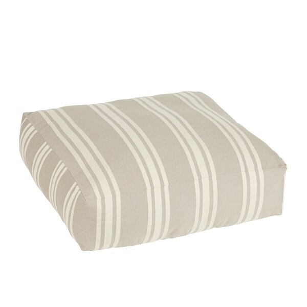 Macon Stone Square Indoor/Outdoor Floor Pillow by Laurel Foundry Modern Farmhouse